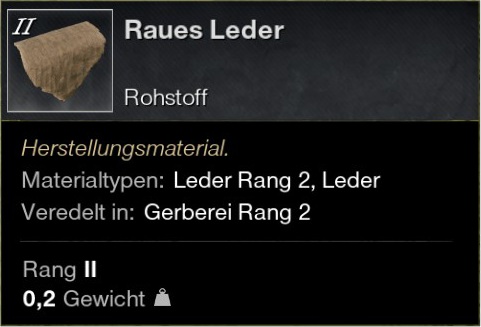 Raues Leder