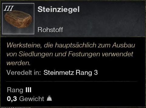 Steinziegel