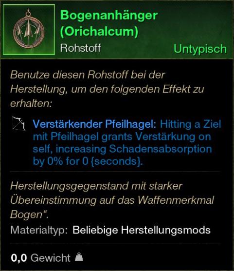 Bogenanhänger (Orichalcum)