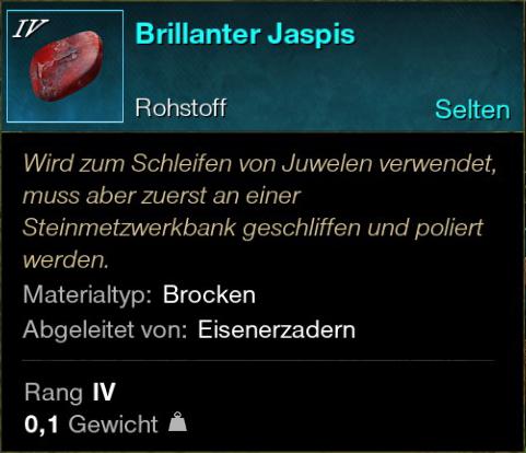 Brillanter Jaspis