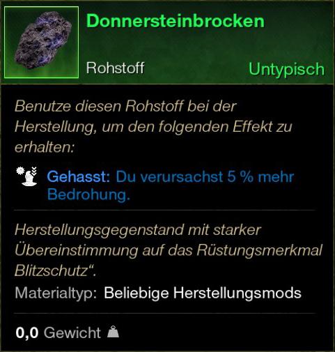 Donnnersteinbrocken