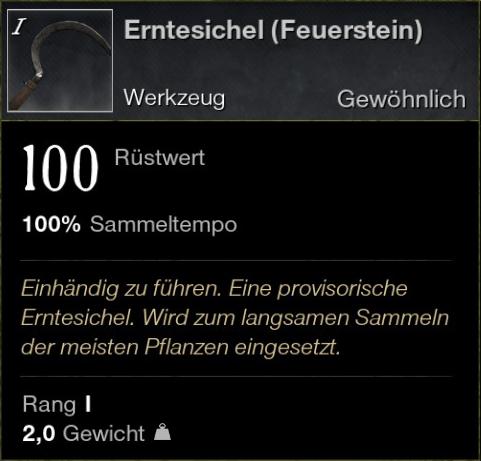 Erntesichel (Feuerstein)