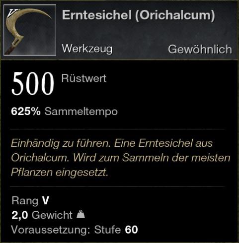 Erntesichel (Orichalcum)