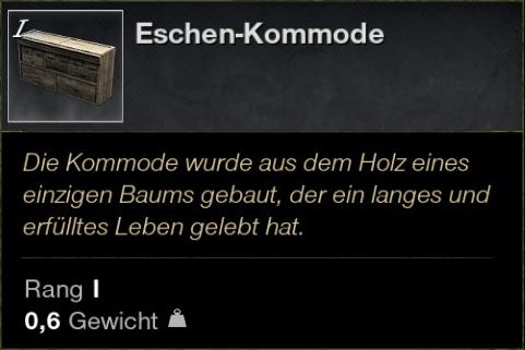 Eschen Kommode