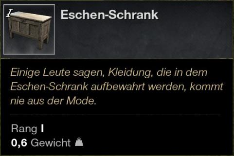 Eschen Schrank