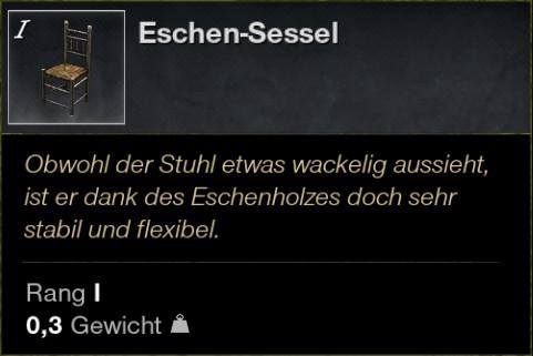 Eschen Sessel