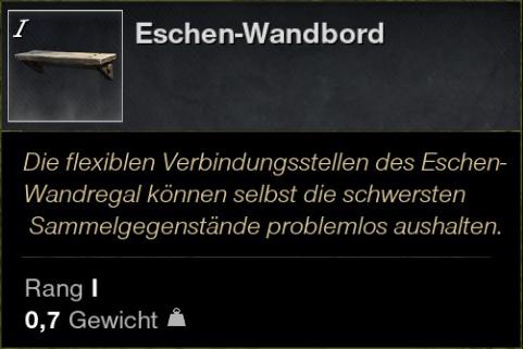 Eschen Wandboard