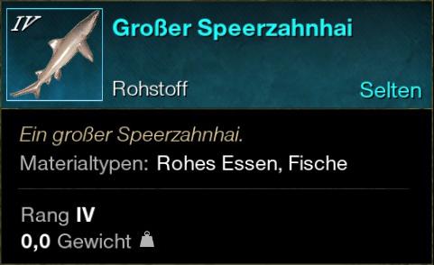 Großer Speerzahnhai