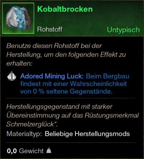 Kobaltbrocken