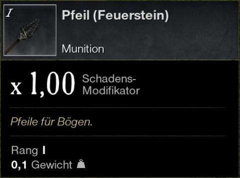 Pfeil (Feuerstein)