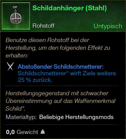 Schildanhänger (Stahl)