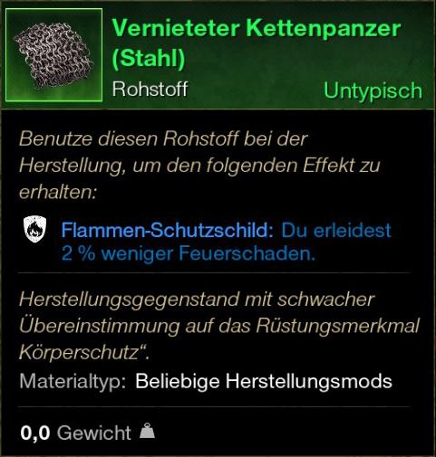 Vernieteter Kettenpanzer (Stahl)