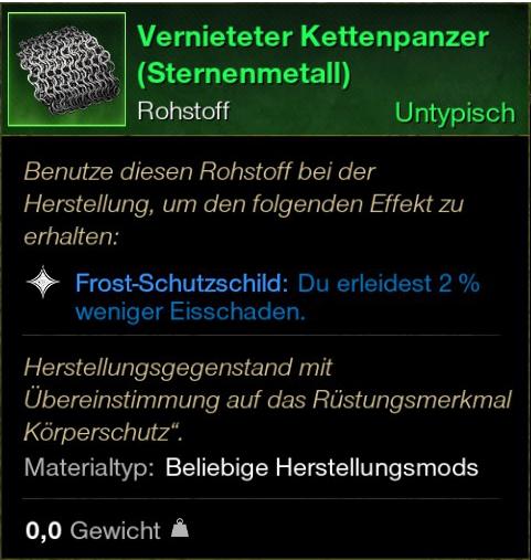 Vernieteter Kettenpanzer (Sternenmetall)