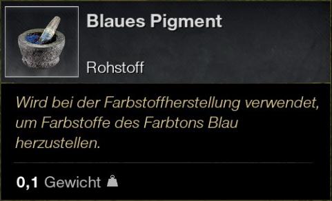 Blaues Pigment