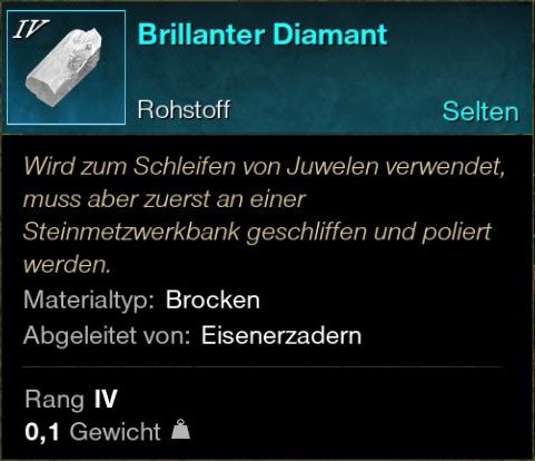 Brillanter Diamant