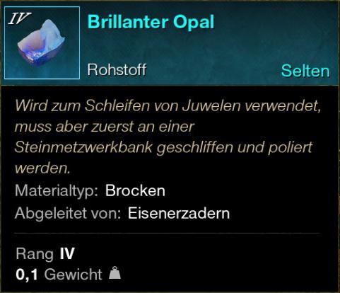 Brillanter Opal