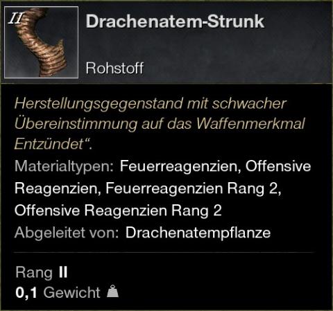 Drachenatem-Strunk