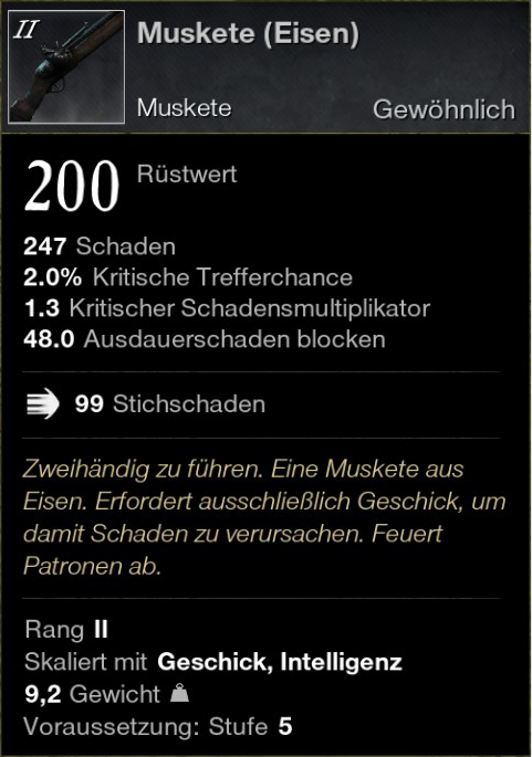 Muskete (Eisen)