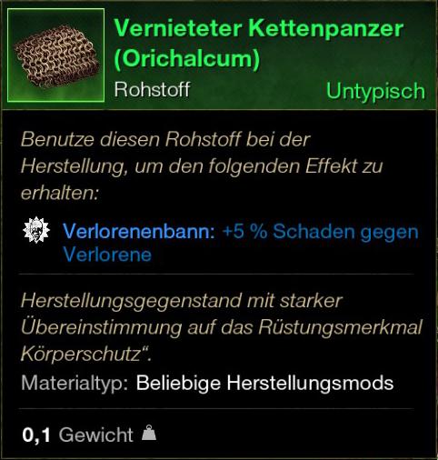 Vernieteter Kettenpanzer (Orichalcum)