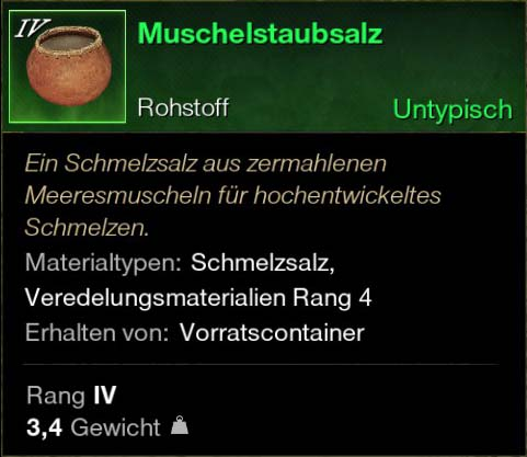 Muschelstaubsalz