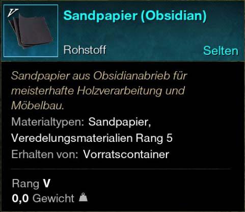 Sandpapier (Obsidian)