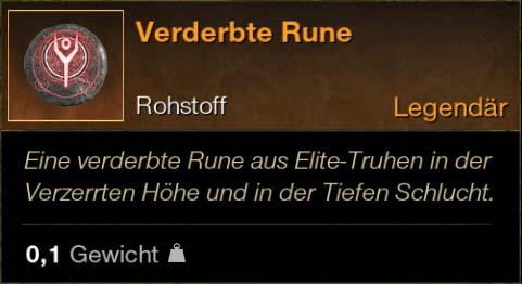 Verderbte Rune