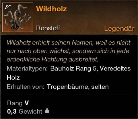 Wildholz